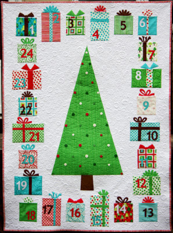 Quilting Patterns Xmas Free : 5 Free Christmas Quilt Patterns 24 Blocks