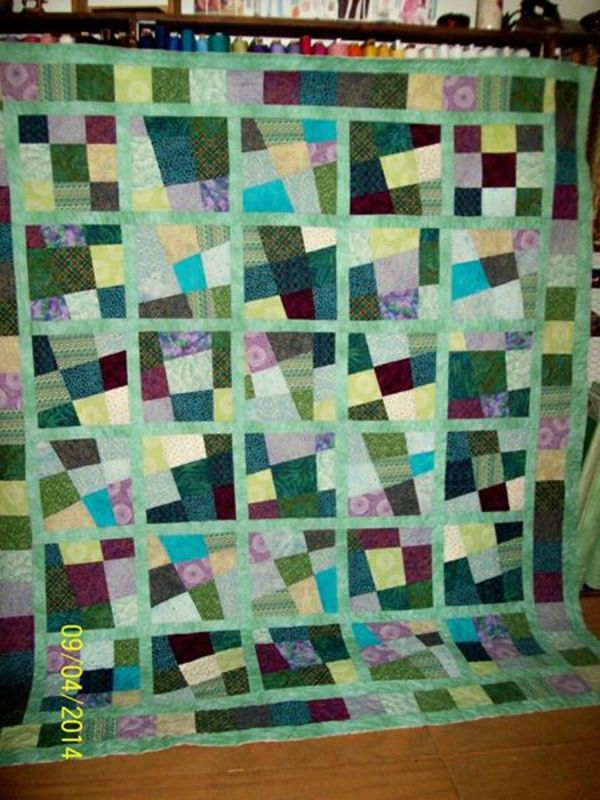 Some Of Our Favorite Crazy Quilts! – 24 Blocks : crazy nine patch quilt pattern - Adamdwight.com