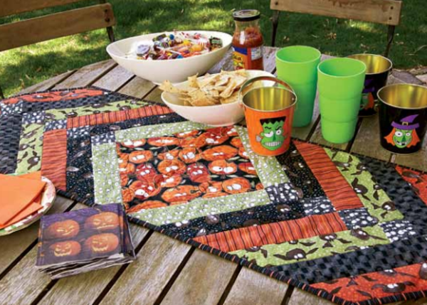 5 Free Halloween Quilt Patterns
