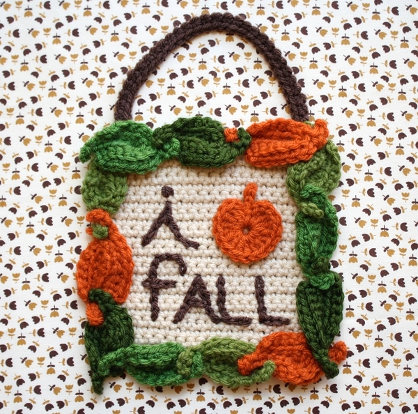 Fall Crochet Patterns : Autumn Inspiration: 5 Free Fall Crochet Patterns - Starting Chain