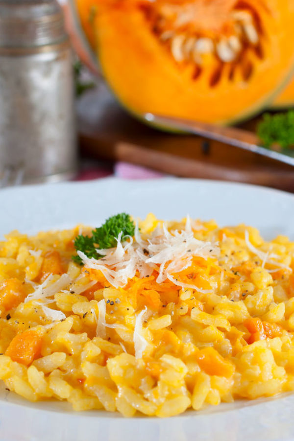 Seasonally Delicious Dinner: Creamy Pumpkin Risotto