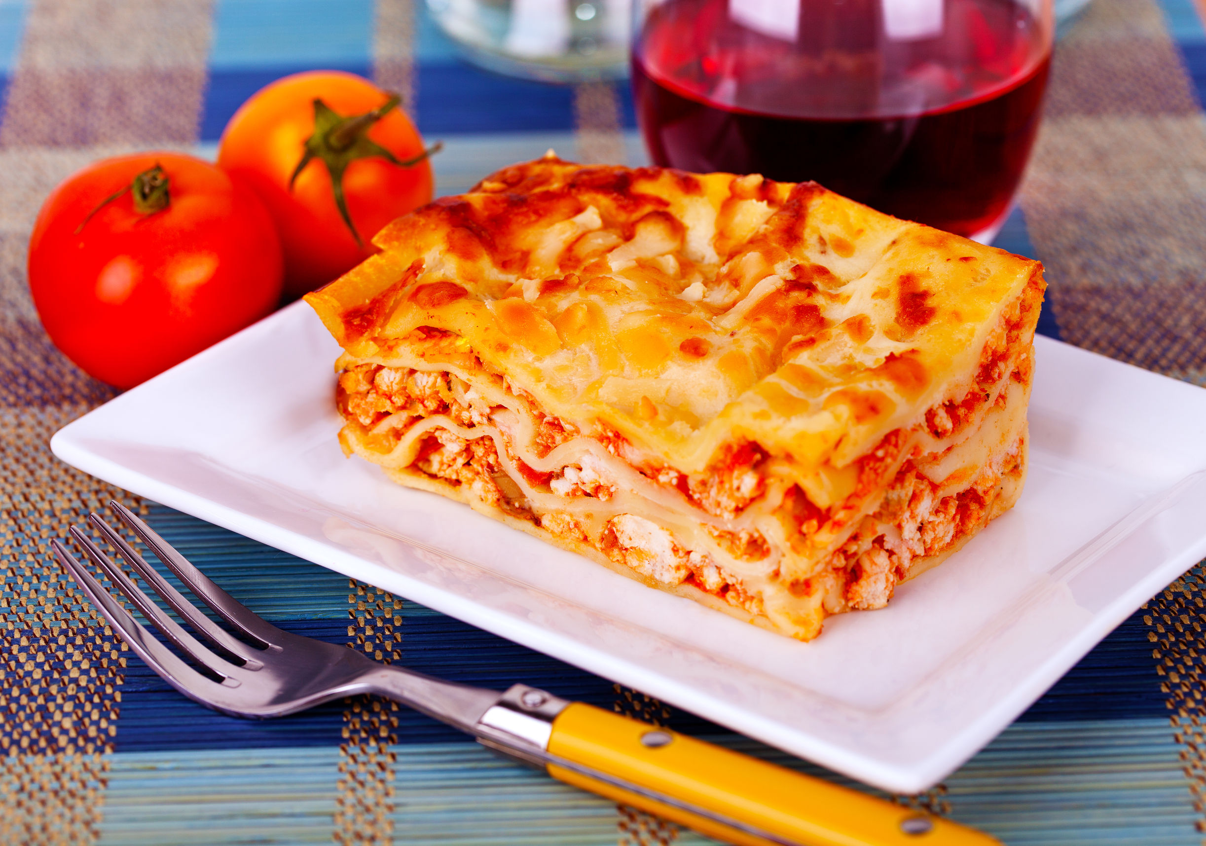 No-Hassle Recipe: One Skillet Three Cheese Lasagna - 12 Tomatoes