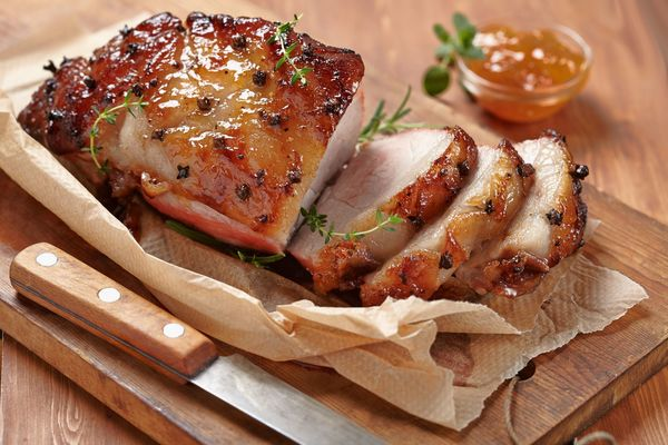 Dinner Recipe: Apricot and Orange Glazed Pork Roast