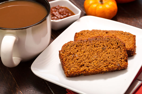 Autumnal Dessert Recipe: Spiced Pumpkin Pecan Loaf