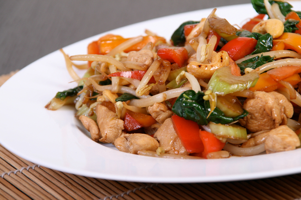 Quick and Healthy Recipe: Chicken, Veggie & Cashew Stir Fry