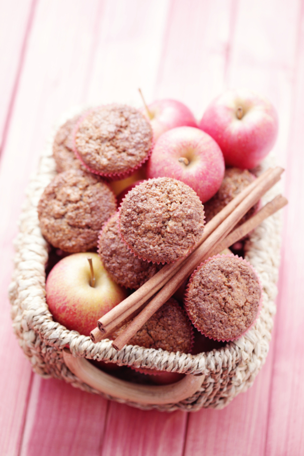 Classic Fall Recipe: Spiced Cinnamon Apple Muffins