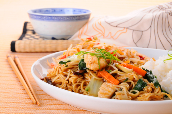 Asian-Inspired Noodle Recipe: Stir-Fried Chicken Chow Mein