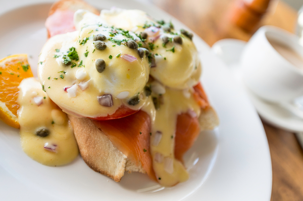 Savory Breakfast Recipe: Smoked Salmon Eggs Benedict