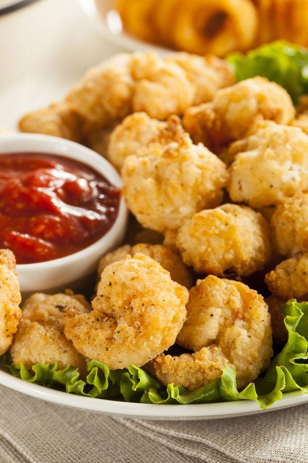 Tasty Seafood Recipe: Crispy Fried Popcorn Shrimp