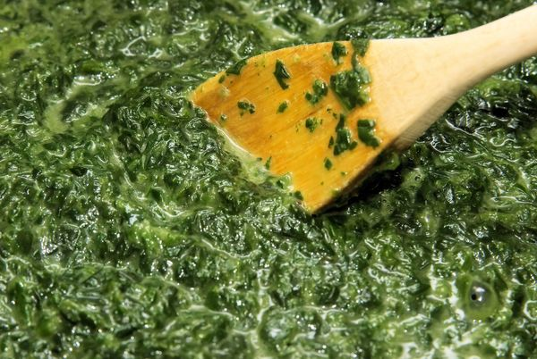 Tasty Vegetable Side Dish: Parmesan Creamed Spinach