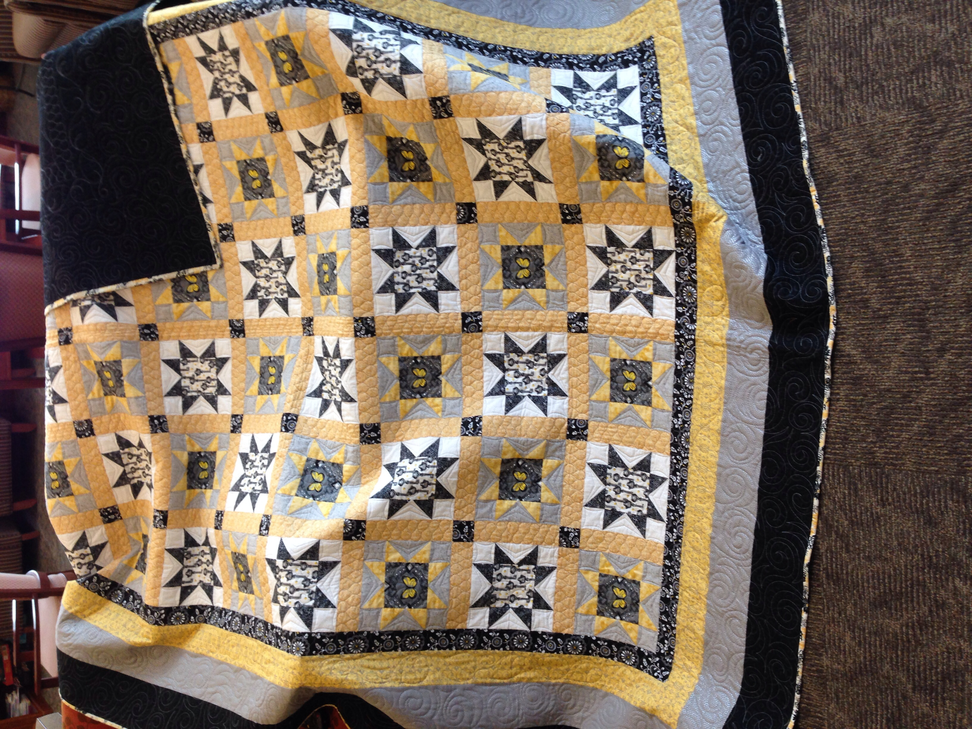 Featured Quilts On 24 Blocks