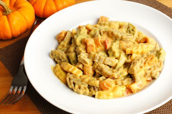 Autumnal Recipe: Creamy Pumpkin Alfredo Pasta