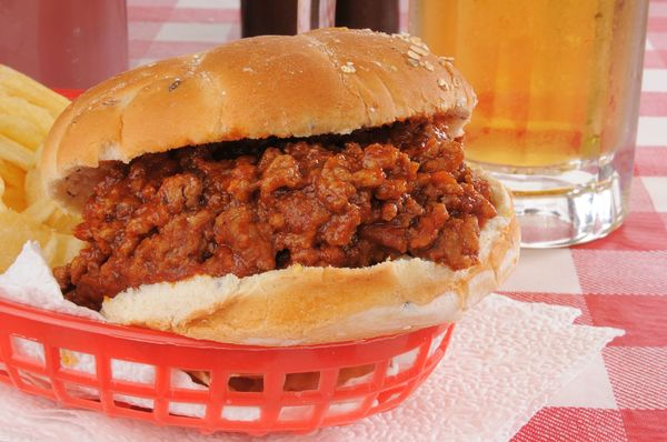One-Skillet Sandwich Recipe: Light Sloppy Joes