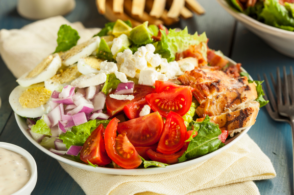 Classic Salad Recipe: Super Stuffed Cobb Salad