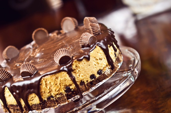 Decadent Dessert Recipe: Reese's Chocolate Peanut Butter Cup Cheesecake