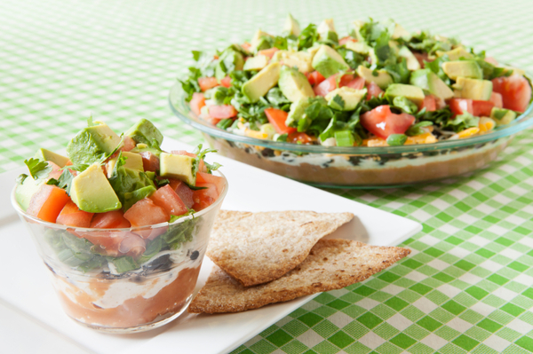 Mexican-Inspired Appetizer: Easy 7-Layer Dip