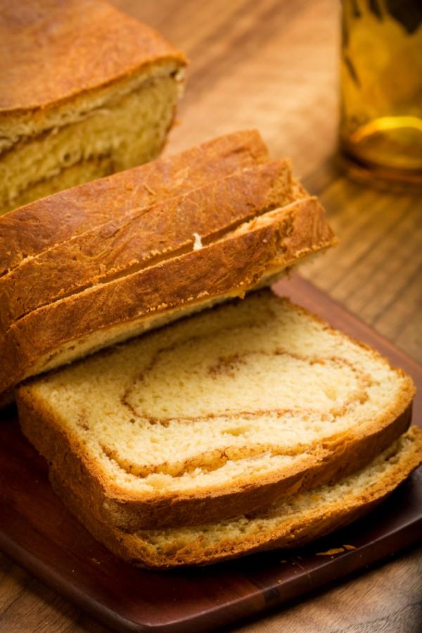 Baking Recipe: Spiced Cinnamon Swirl Bread