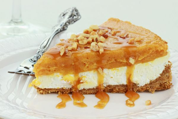 Dessert Recipe: No-Bake Double Layer Pumpkin Cream Pie