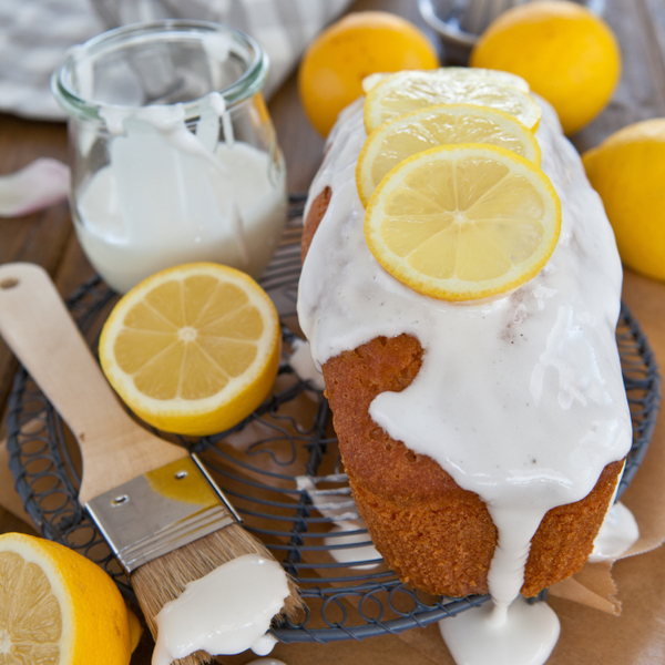 Baking Recipe: Lemon-Glazed Pound Cake
