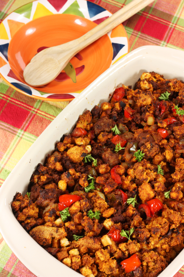 Side Dish Recipe: Jalapeño Buttermilk Cornbread Stuffing