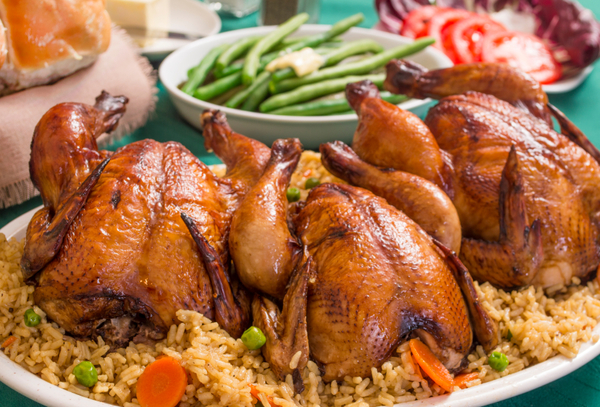 Main Course Recipe: Spice-Rubbed Cornish Game Hens