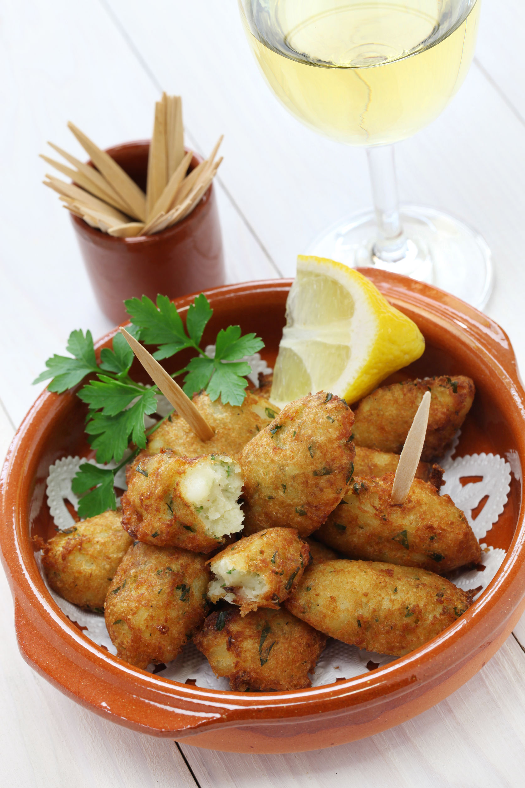 Appetizer Recipe: Spanish Salted Cod Fritters - 12 Tomatoes