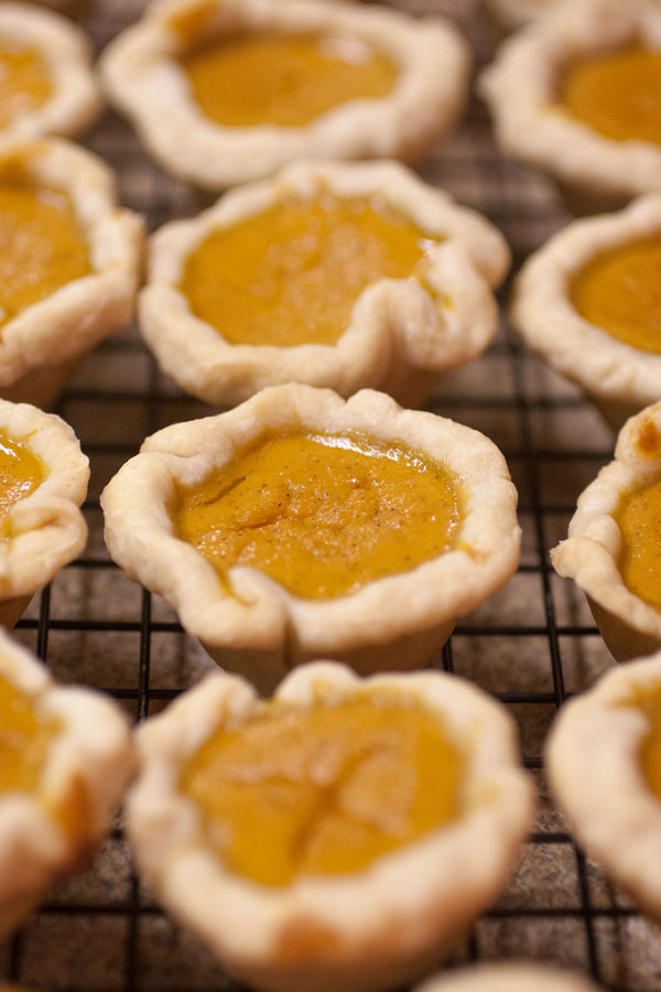 Fun-Sized Dessert Recipe: Itsy-Bitsy Pumpkin Pies