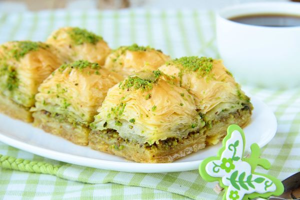 Dessert Recipe: Honey & Pistachio Baklava