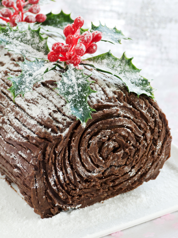 Holiday Dessert Recipe: Christmas Chocolate Yule Log
