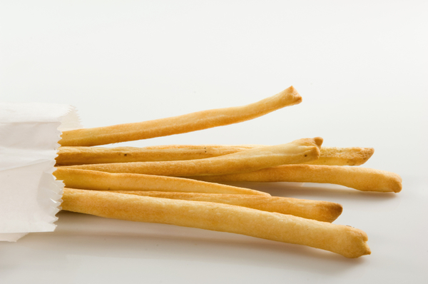 Italian Appetizer: Hand-Stretched Grissini Breadsticks