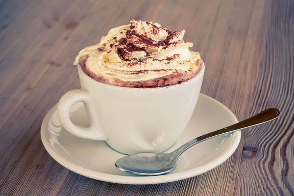 Warm And Rich Beverage: Dark Mocha Hot Chocolate
