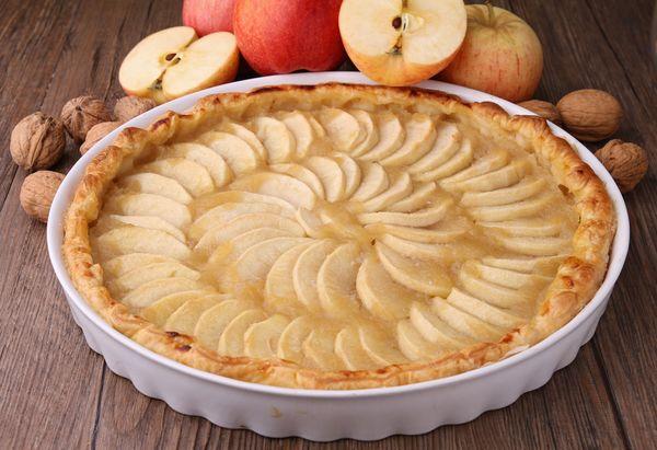 Healthy American Classic: Sweet & Tart Apple Pie Tart