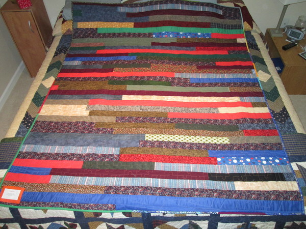 Quilting Clarification: Jelly Roll Quilts vs.  String Block Quilts