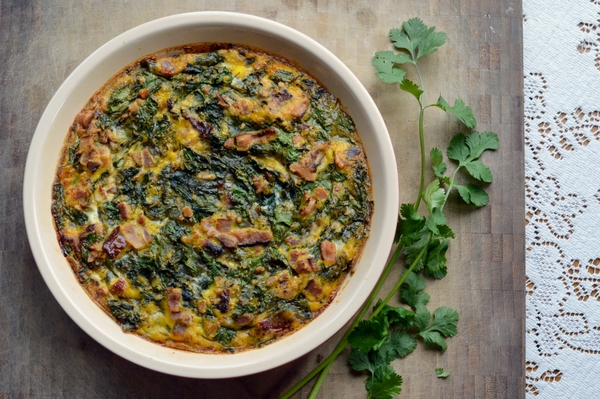 Scrumptious Dr. Seuss Breakfast : Green Eggs And Ham Breakfast Pie