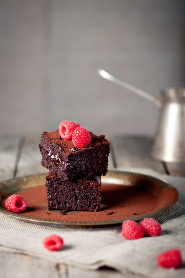 Rich And Fruity Dessert Recipe: Dark Chocolate Raspberry Brownies