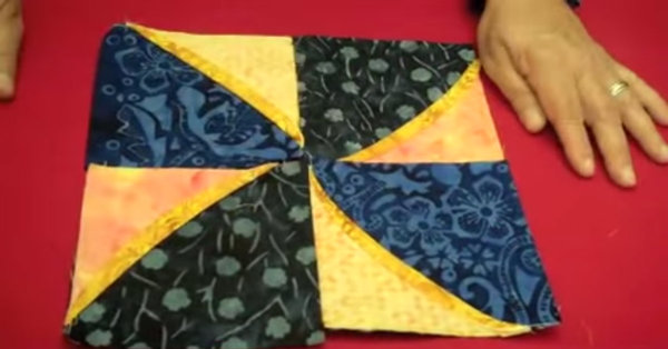 Pinwheel With A Twist: Motion Commotion Quilt