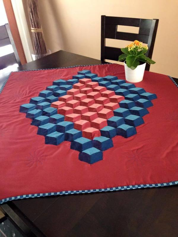 Unreal Round-Up: Crazy Cool 3D Illusion Quilts!