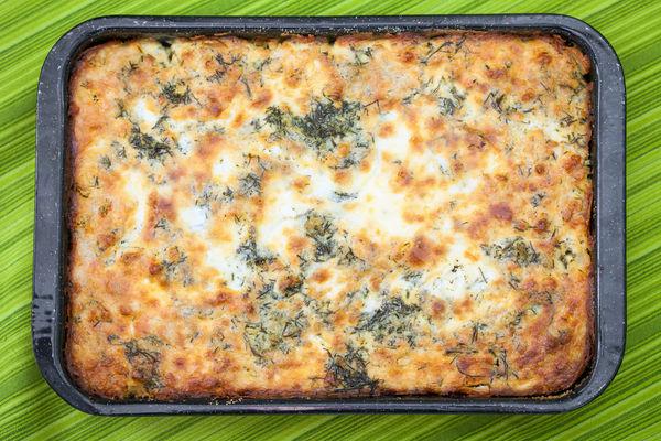 Cheesy Vegetarian Casserole: Cauliflower Cheese Bake