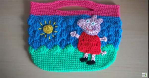 The Perfect Project For Kids - Crochet Your Own Peppa Pig Bag!