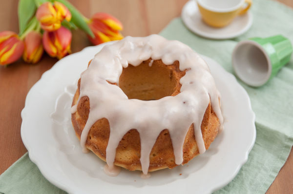 Zesty Spring Treat: Glazed Orange Zest Bundt Cake