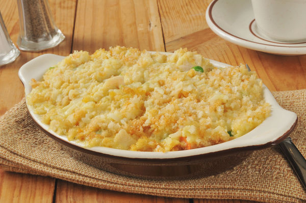 Hearty & Classic Casserole: Creamy Chicken And Rice Bake