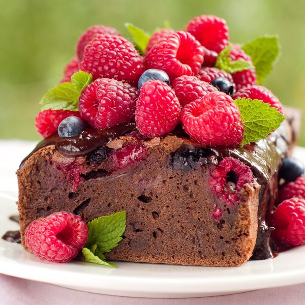 Sinfully Rich Dessert: Chocolate-y Chocolate Berry Loaf Cake