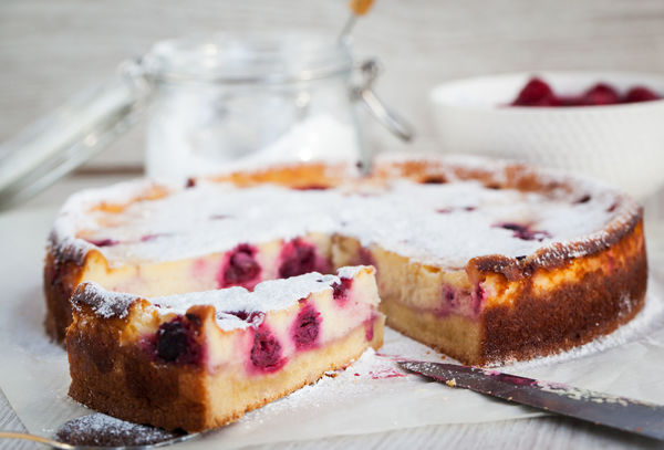 Filling And Fruity Treat: Cream Cheese Cherry Coffee Cake