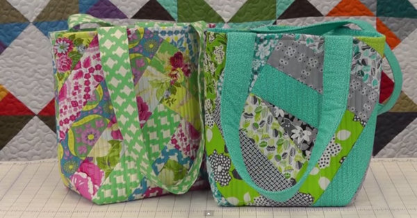 Perfectly Cute Project - Make Your Own Quilted Tote Bag!