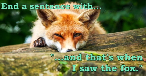 Our 10 Favorite Responses To The Fox Prompt!