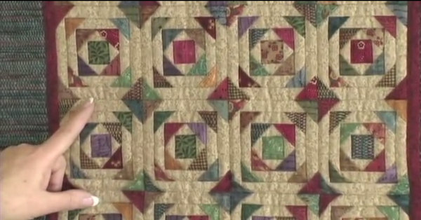 Give Your Quilt Symbolic Meaning With This Pineapple Log Cabin Quilt!