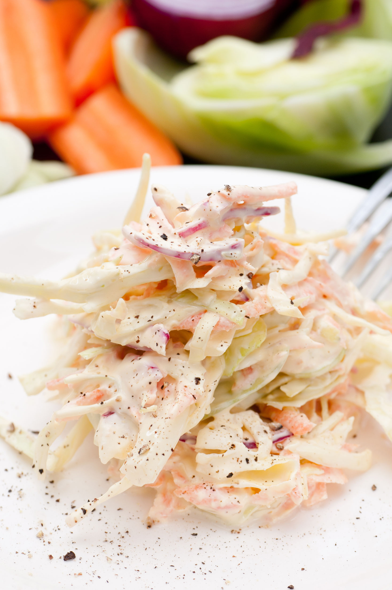 We Love This Creamy Cole Slaw And You Will Too! - 12 Tomatoes