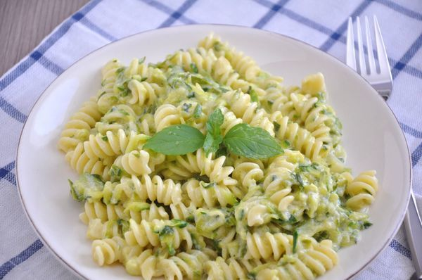 Summertime Staple - Creamy And Light Zucchini Pasta