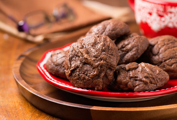 These Chocolate Truffle Cookies Are So Rich, You're Going To Want A Glass Of Milk To Wash Em Down!
