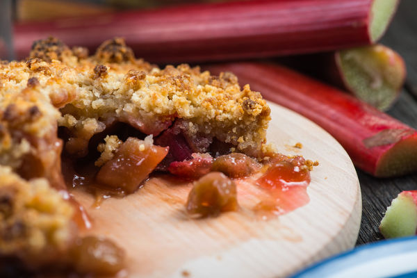 It's In Season For Such A Short Period Of Time, We Make Sure To Make This Rhubarb Crisp While We Can!